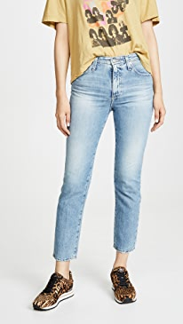 The Isabelle High-Rise Straight Crop Jeans
