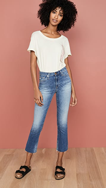 AG The Jodi Slim Flare Crop Jeans