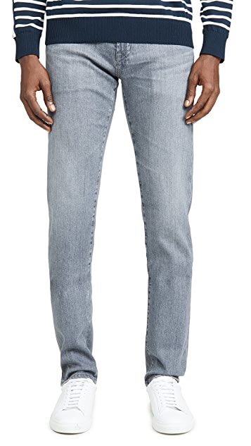 AG Tellis Denim Jeans In Courier Wash