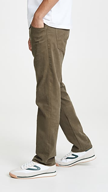 AG Tellis Twill Pants In Dark Bayou Wash