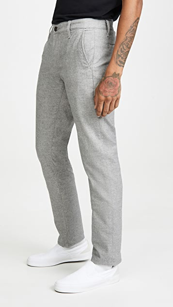 AG Marshall Flannel Pants In Cast Iron