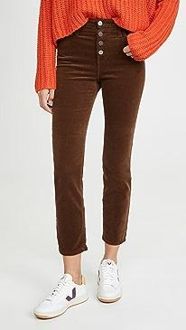 Isabelle Corduroy Button Up Pants