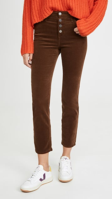 AG Isabelle 灯芯绒系扣裤