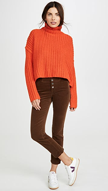 AG Isabelle Corduroy Button Up Pants