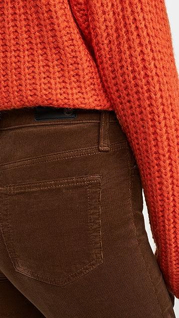 AG Isabelle 灯芯绒系扣长裤