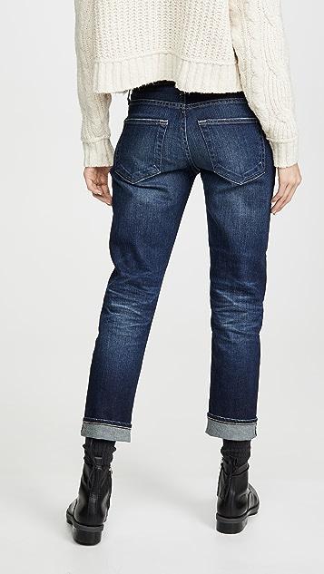 AG 男孩风修身牛仔裤