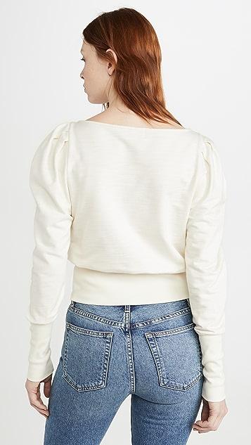 AG Walker Puff Sleeve Sweatshirt
