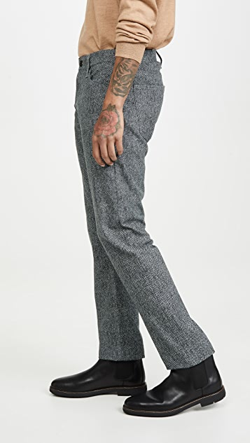 AG Civil Herringbone Graduate Pants