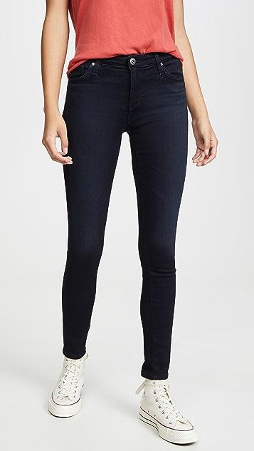AG 贴腿九分牛仔裤