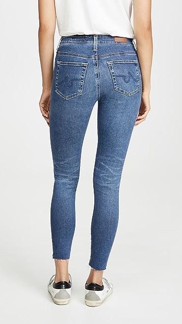 AG The Farrah 紧身牛仔裤