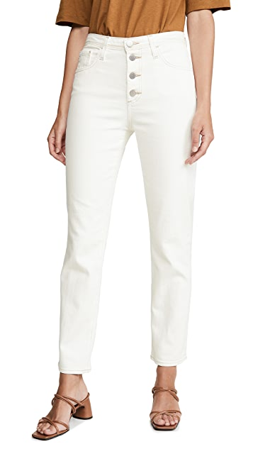 AG Isabelle Button-Up Jeans