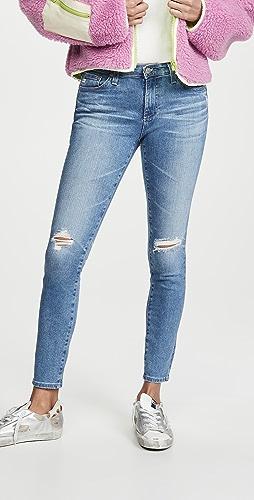 AG - 及踝贴腿牛仔裤