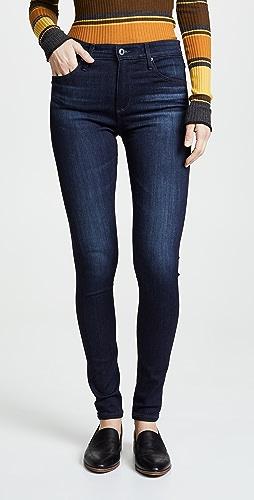 AG - The Farrah 高腰紧身牛仔裤