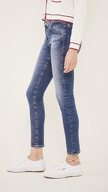 AG 及踝贴腿牛仔裤