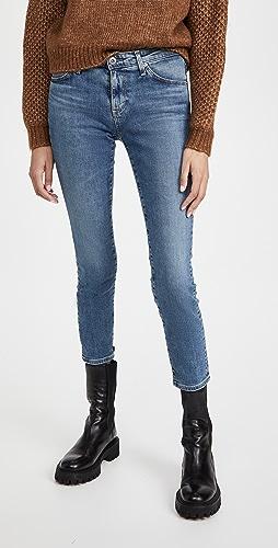 AG - Prima 中长牛仔裤
