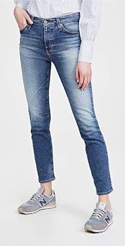 AG - Mari High Rise Slim Straight Jeans