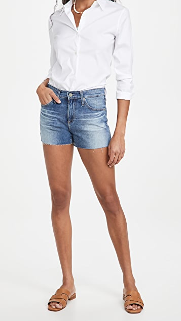 AG Hailey Cutoff Straight Shorts