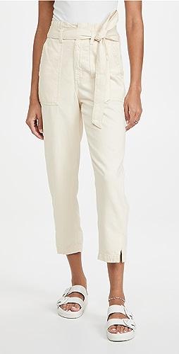 AG - Paperbag Renn High Rise Barrel Jeans