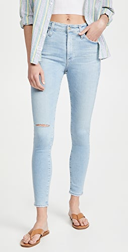 AG - Farrah 紧身九分牛仔裤