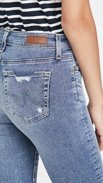 AG Mari 中长牛仔裤