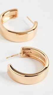 AGMES Medium Modernist Hoops