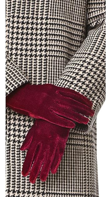 Agnelle Celia Velvet Gloves