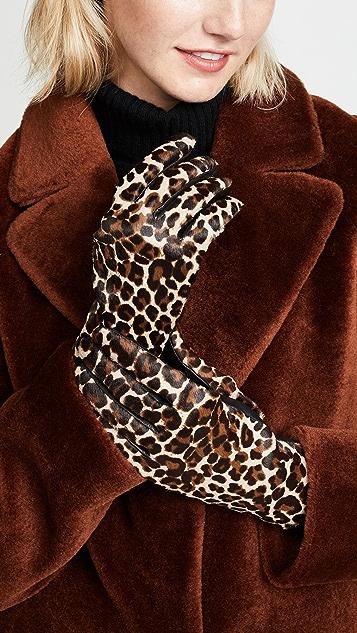 Agnelle Chloe Calf Gloves