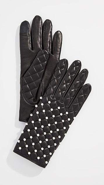Agnelle Chloe Pearl Gloves