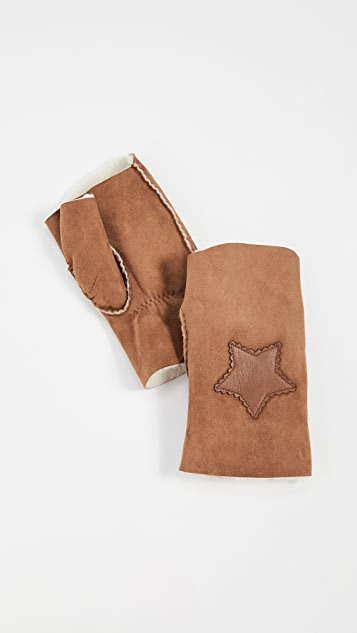 Agnelle Sherif Fingerless Gloves