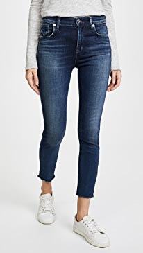 Sophie High Rise Skinny Crop Jeans