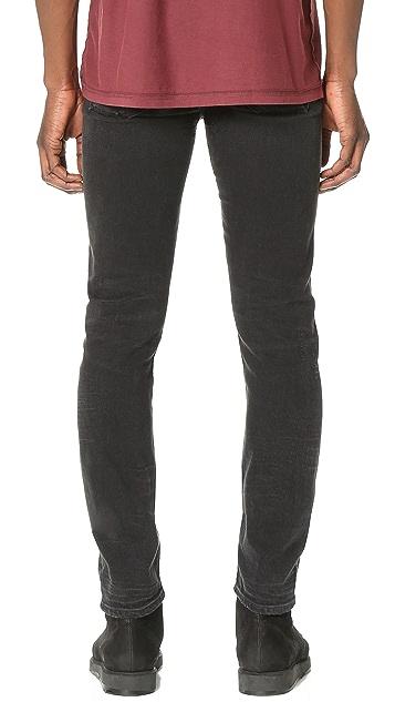 AGOLDE Ferg Super Skinny Grit Jeans