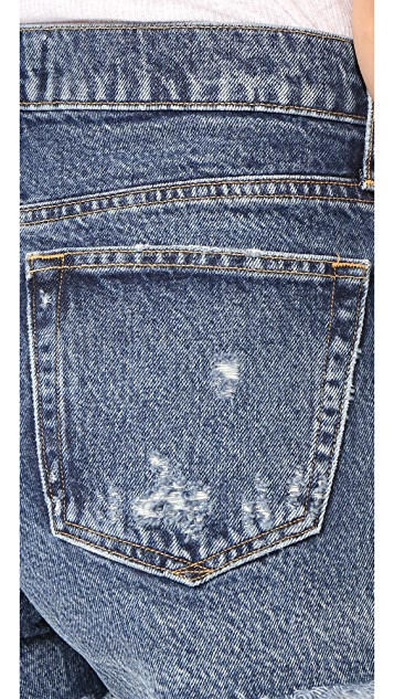 AGOLDE Parker Vintage Look Fit Cutoff Shorts