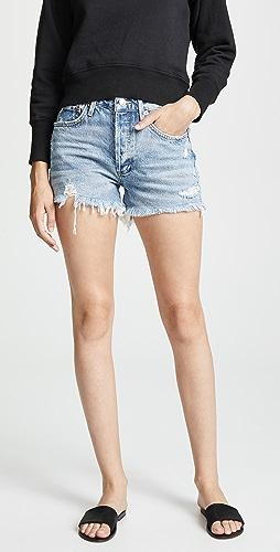 AGOLDE - Parker 复古宽松版型超短裤