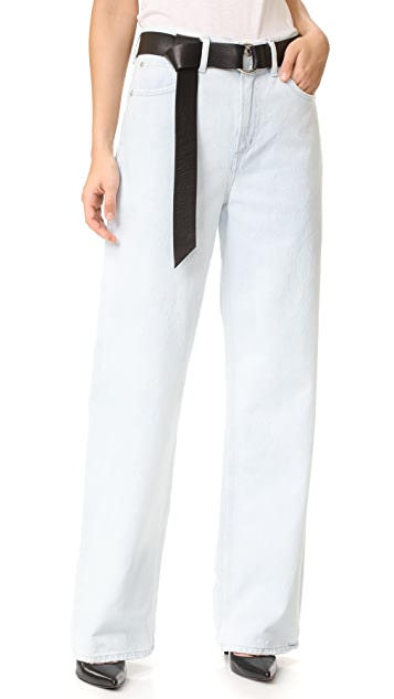AGOLDE Alana Oversized Straight Leg Jeans