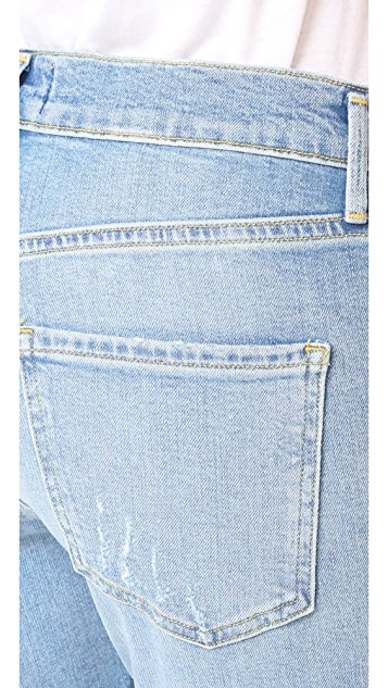 AGOLDE Isabel Slim Fit Boyfriend Jeans