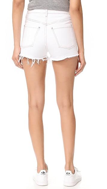 AGOLDE Jaden High Rise Cutoff Shorts