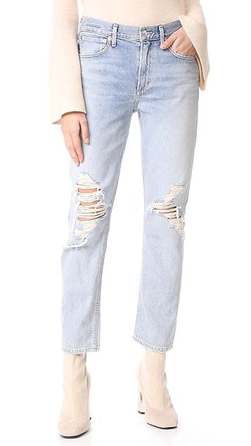 AGOLDE Cigarette Straight Leg Jeans