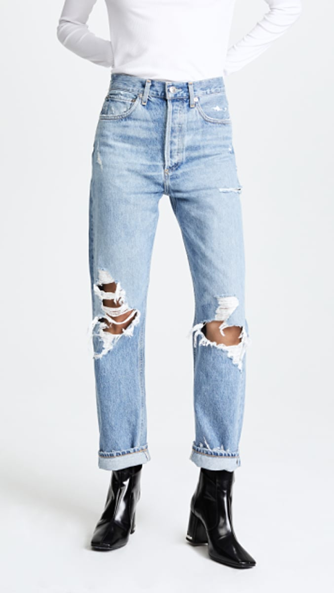 '90s Fit Mid Rise Loose Fit Jeans