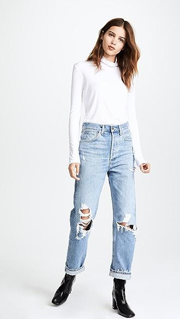 AGOLDE Свободные джинсы со средней посадкой в стиле 90-х гг.