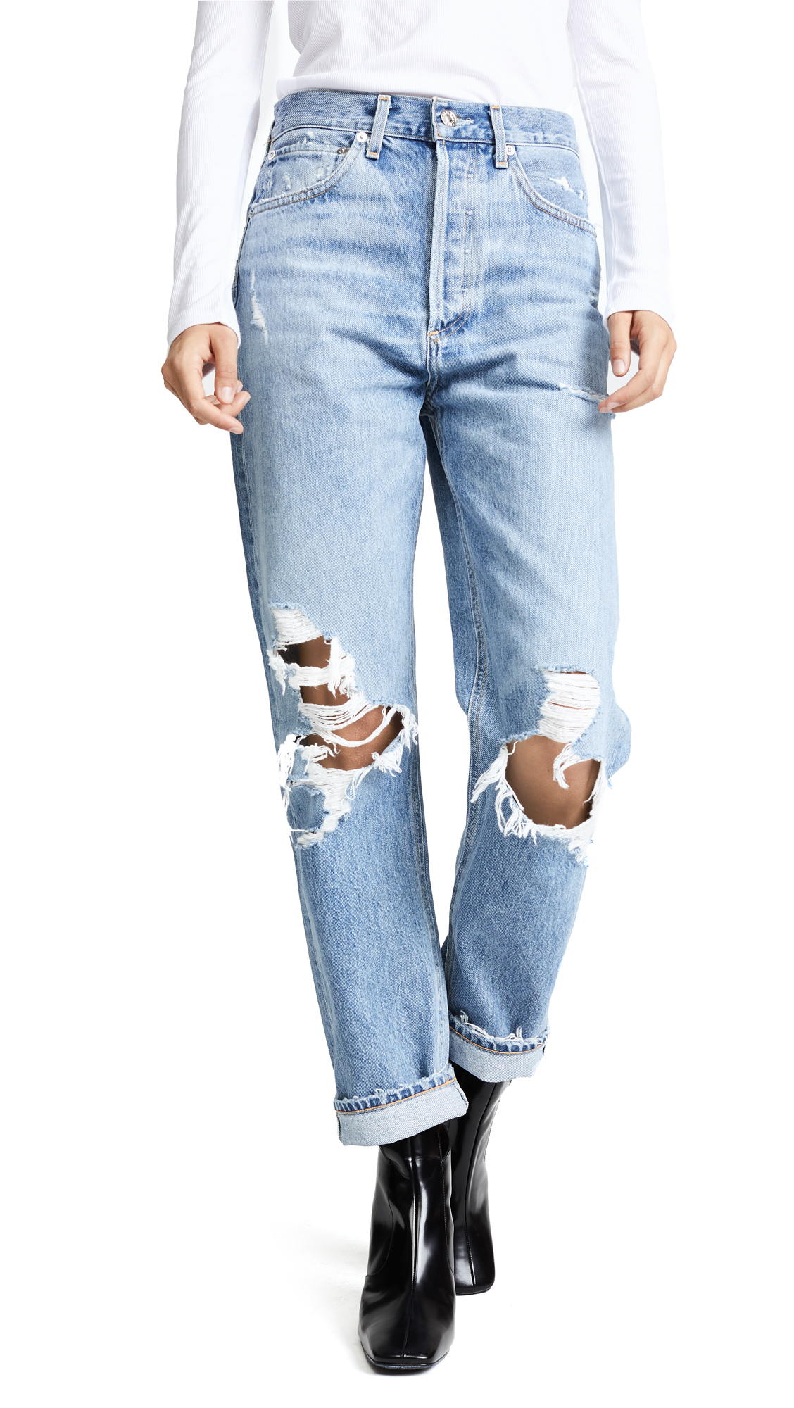 AGOLDE '90s Fit Mid Rise Loose Fit Jeans