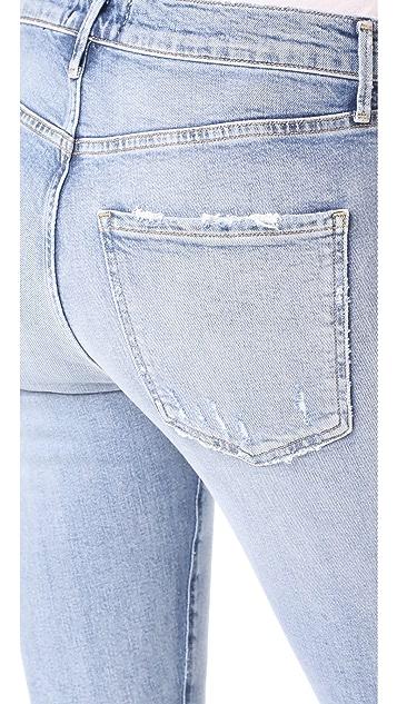 AGOLDE Sophie High Rise Crop Skinny Jeans
