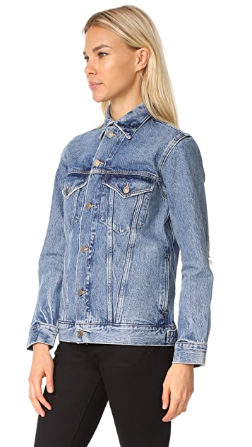AGOLDE Jessie Oversized Denim Jacket