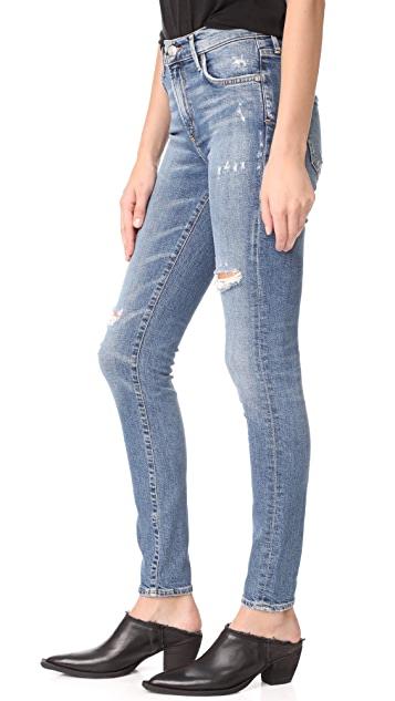 AGOLDE Sophie High Skinny Jeans