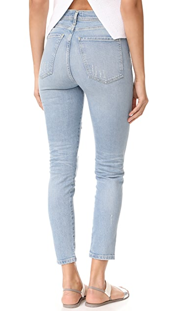 AGOLDE Roxanne Super High Rise Skinny Jeans