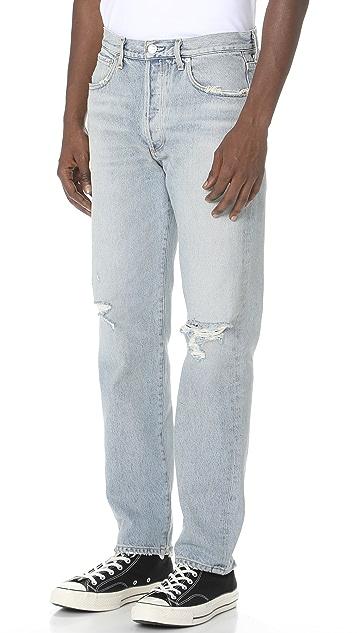 AGOLDE Ferg Division Straight Denim Jeans
