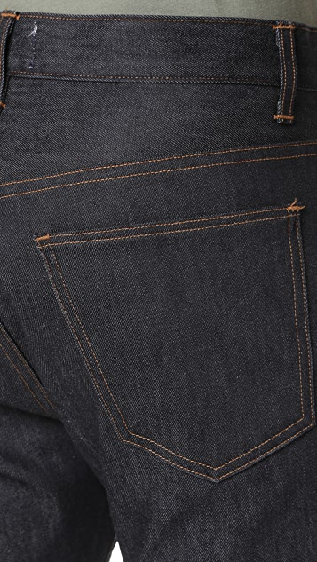 AGOLDE Hero Indigo Raw Denim Jeans