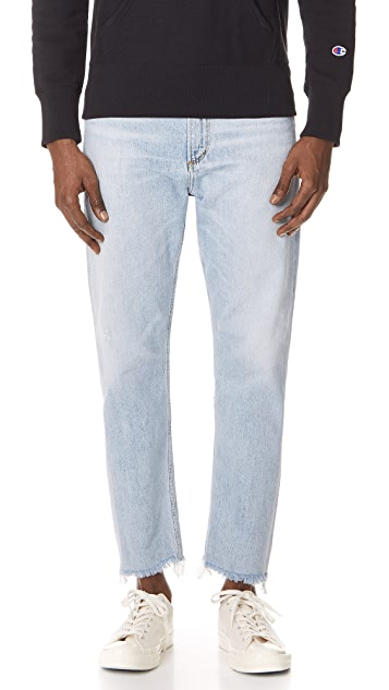 AGOLDE Cut Off Hero Jeans