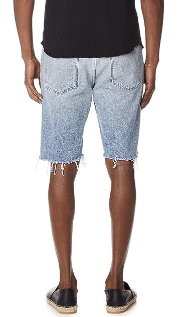 AGOLDE Division Jean Shorts