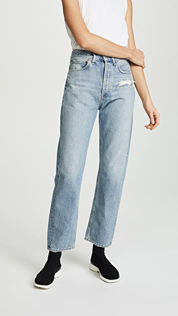 AGOLDE 90s Fit Mid Rise Jeans