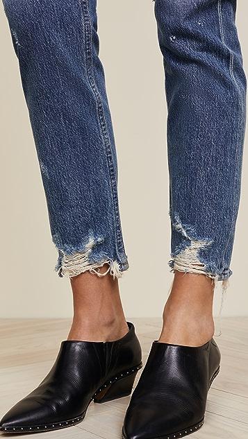 AGOLDE Классические джинсы Jamie с высокой посадкой